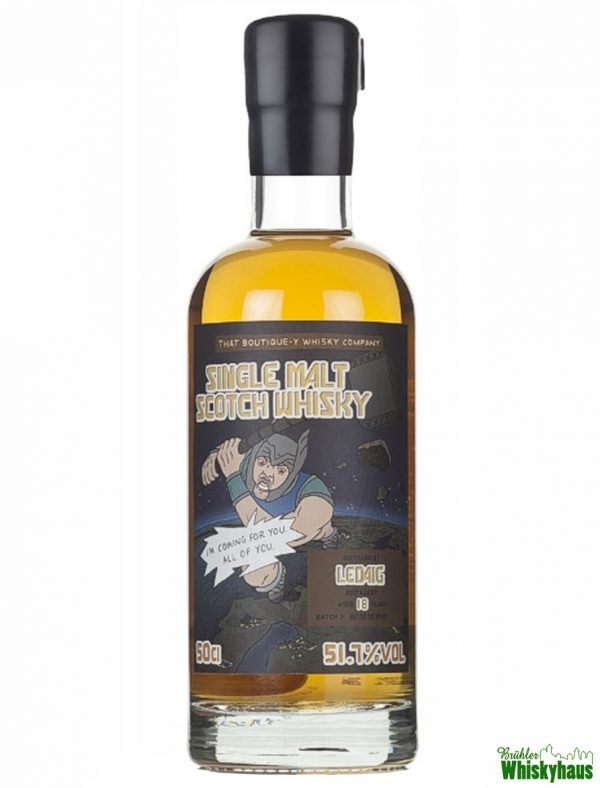 Ledaig 18 Jahre - Batch°3 - That Boutique-Y Whisky Company - Single Malt Scotch Whisky