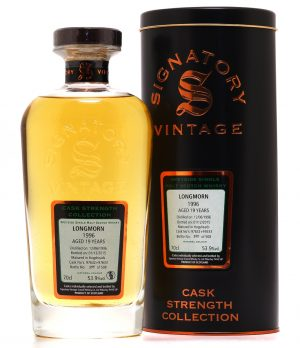 Longmorn 19 Jahre - Hogsheads 97632 + 97633 - Signatory Vintage - Single Malt Scotch Whisky