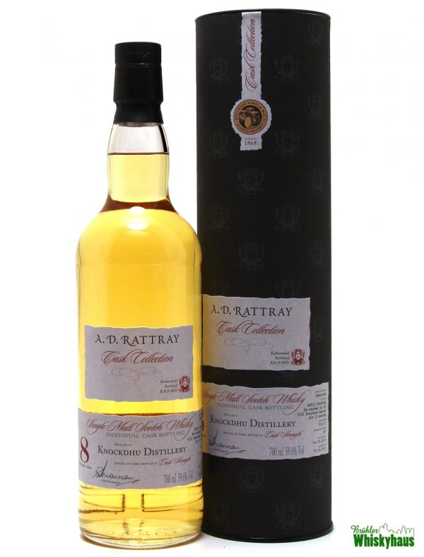 Knockdhu 8 Jahre - Hogshead N° 700303 - A.D. Rattray - Single Malt Scotch Whisky