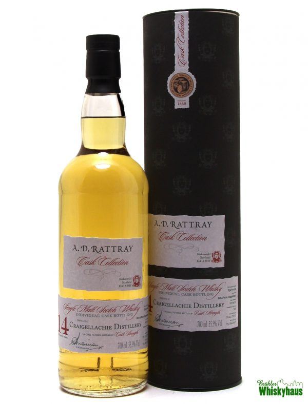 Craigellachie 14 Jahre - Bourbon Hogshead N° 900600 - A.D. Rattray - Single Malt Scotch Whisky