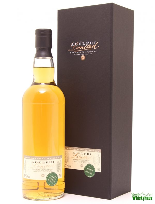 Glen Grant 29 Jahre - Refill Sherry Cask N° 9174 - Adelphi Selection - Single Malt Scotch Whisky