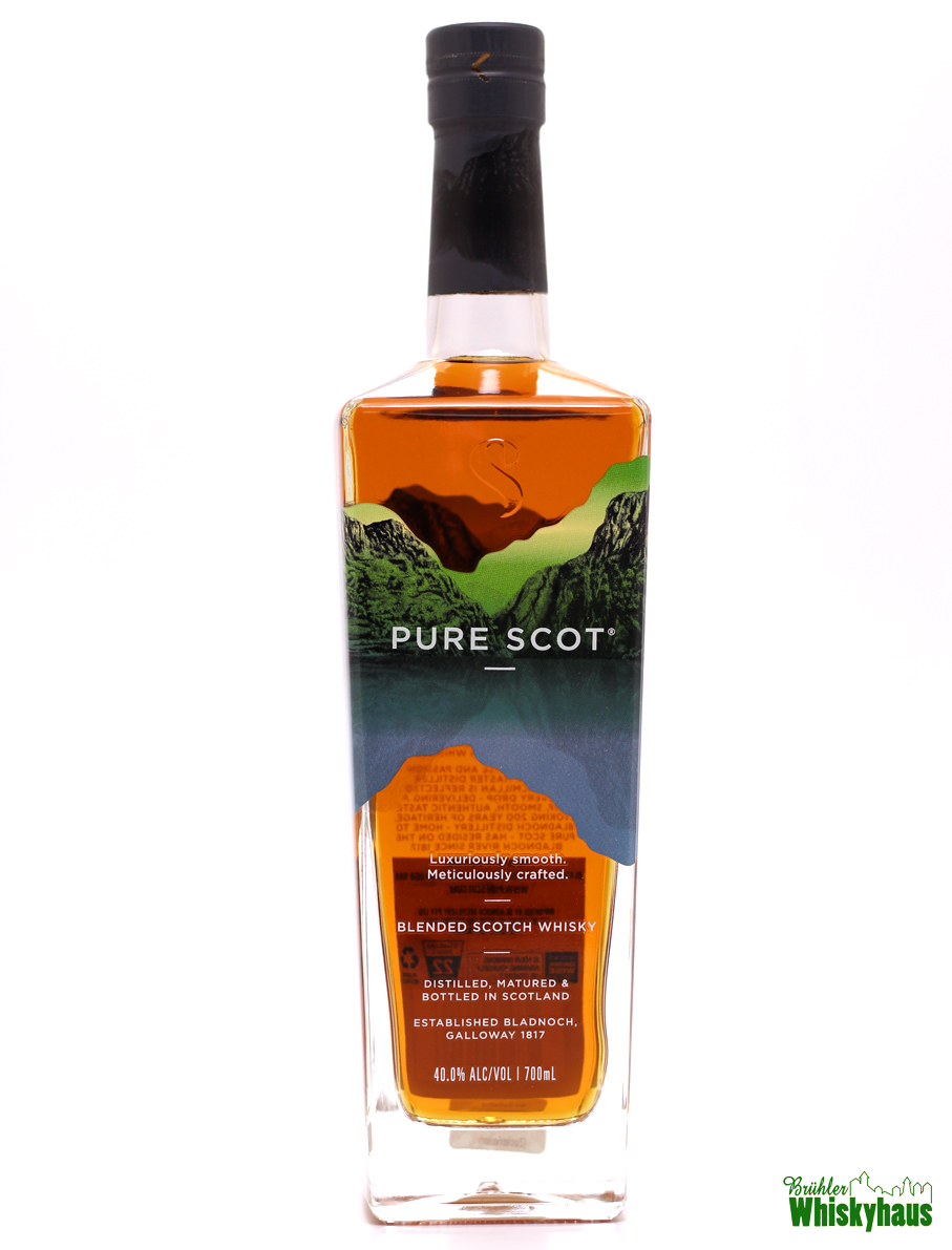 PURE SCOT Premium Blended Scotch Whisky by Bladnoch Distillery