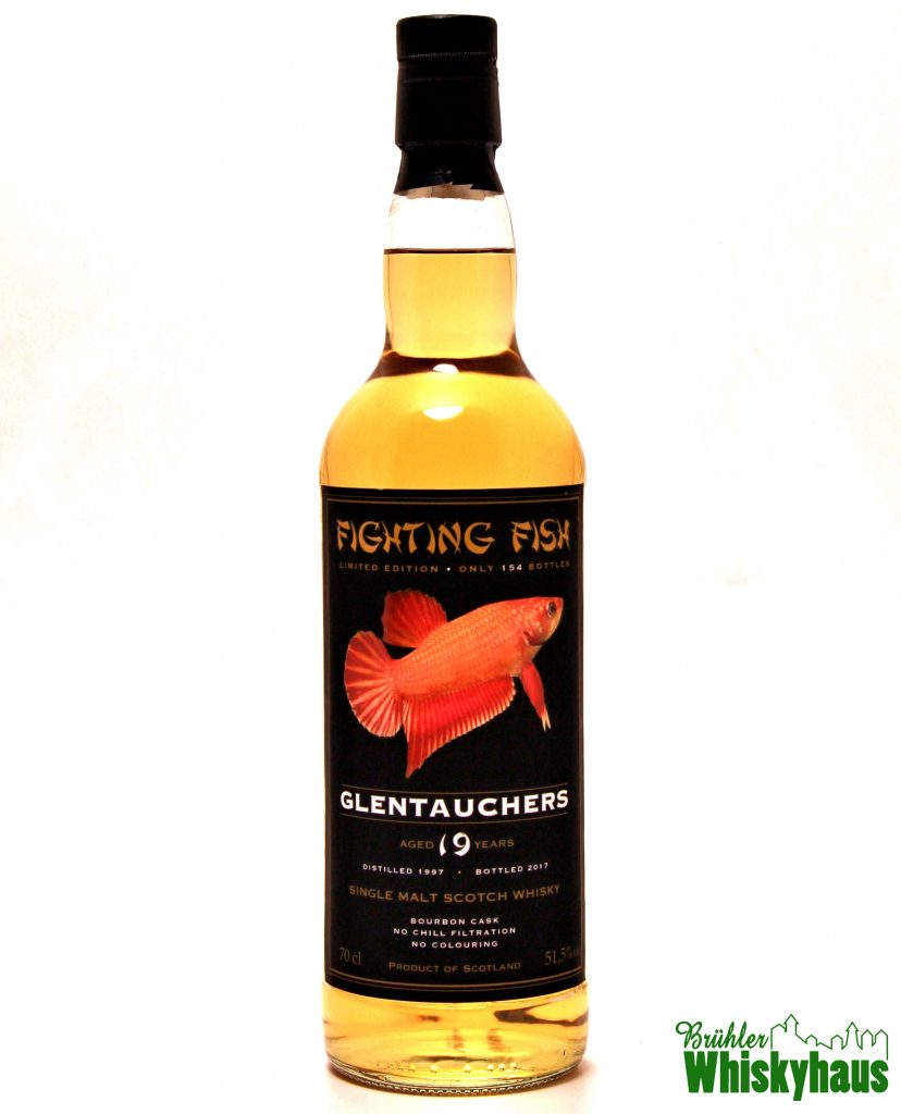 Glentauchers 19 Jahre - Bourbon Cask - Fighting Fish - Single Malt Scotch Whisky