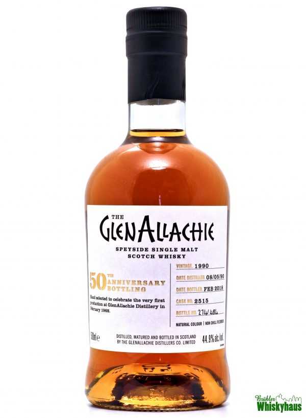 "Glenallachie ""50th Anniversary Bottling"" 27 Jahre - Cask No. 2545 - Speyside Single Malt Scotch Whisky"