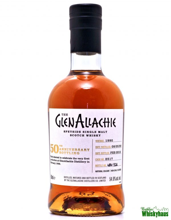 "Glenallachie ""50th Anniversary Bottling"" 27 Jahre - Cask No. 2517 - Speyside Single Malt Scotch Whisky"