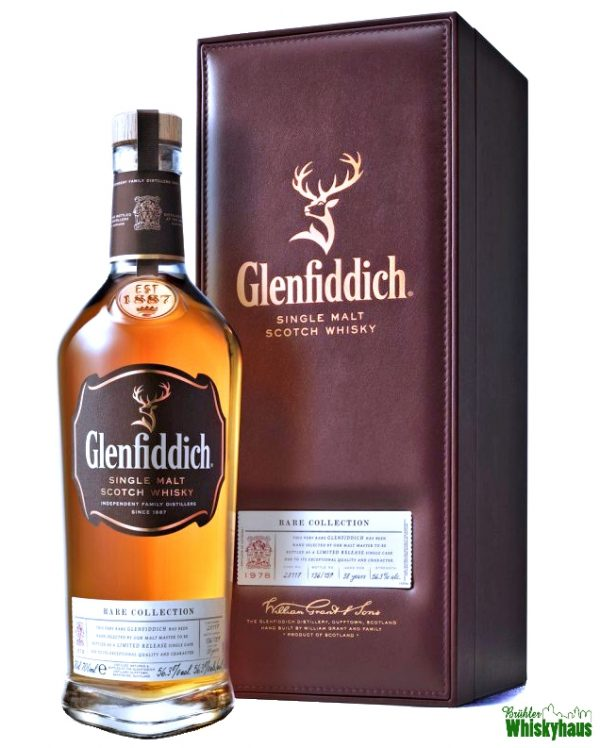 Glenfiddich Vintage 1978 - 38 Jahre - Rare Collection - Single Malt Scotch Whisky