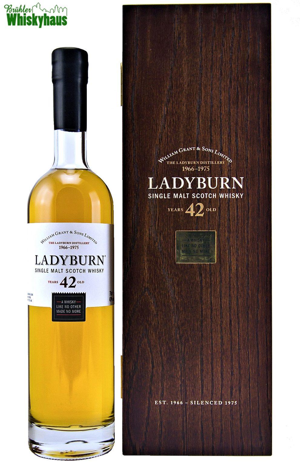Ladyburn Vintage 1972 - 42 Jahre - Rare Collection - Single Malt Scotch Whisky