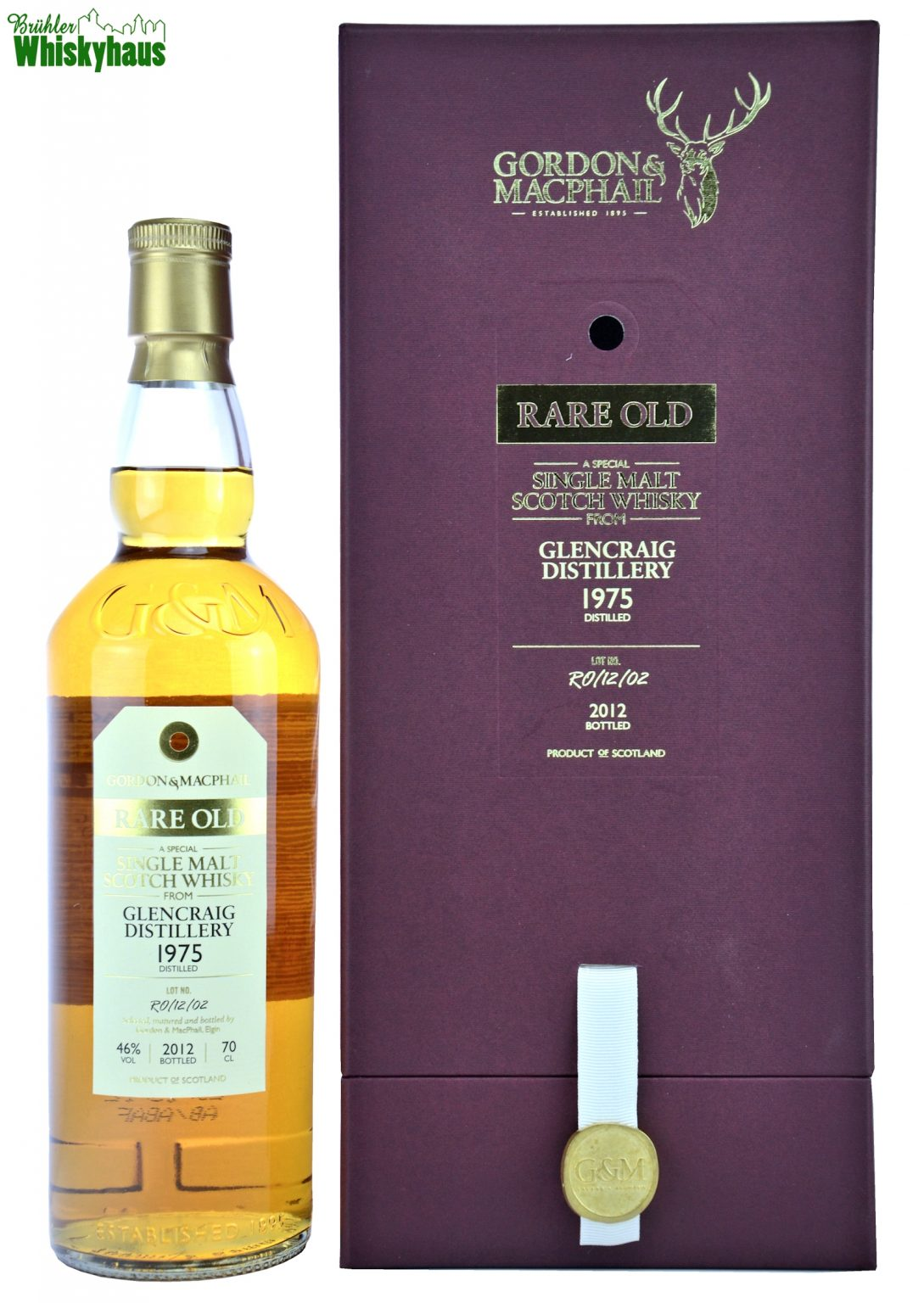 Glencraig Vintage 1975 - 37 Jahre - Refill Bourbon Hogshead - Gordon & MacPhail - Single Malt Scotch Whisky