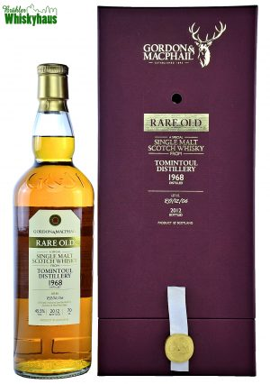 Tomintoul Vintage 1968 - 43 Jahre - Refill Sherry Hogshead No. RO/12/06 - Gordon & MacPhail - Single Malt Scotch Whisky
