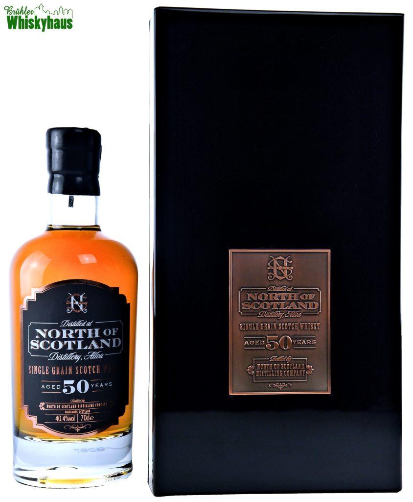 North of Scotland Distillery Alloa - 50 Jahre - Bourbon Casks - Single Grain Whisky