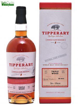 Tipperary 10 Jahre - Triple Wood Cask Finish - Single Malt Irish Whiskey