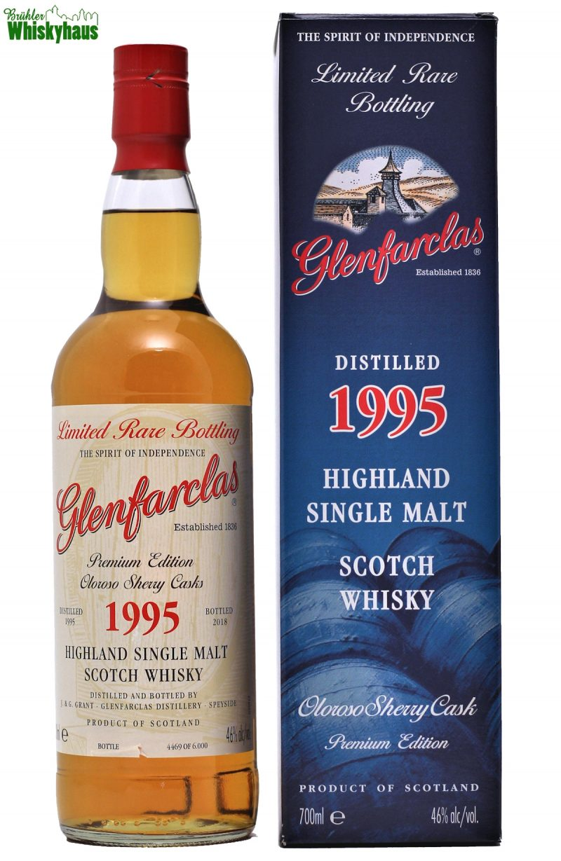 Glenfarclas Vintage 1995 - Premium Edition Oloroso Sherry Casks - Highland Single Malt Scotch Whisky