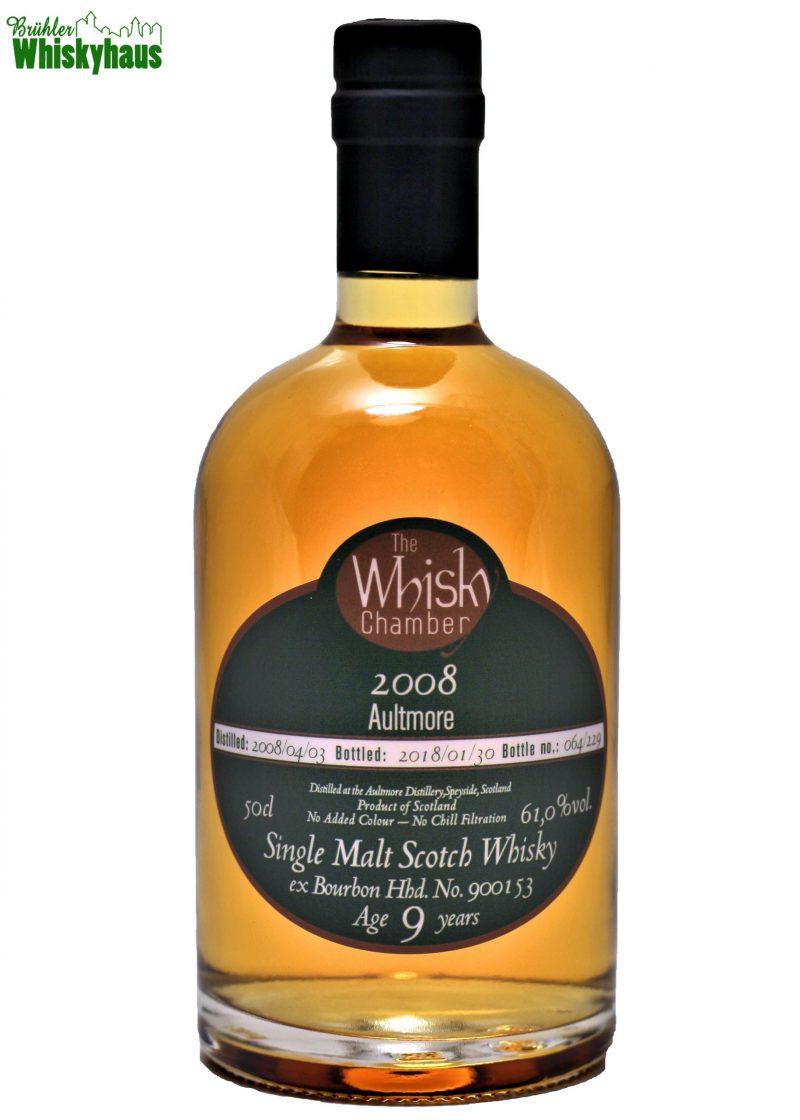 Aultmore 9 Jahre - Ex Bourbon Hogshead - The Whisky Chamber - Single Malt Whisky