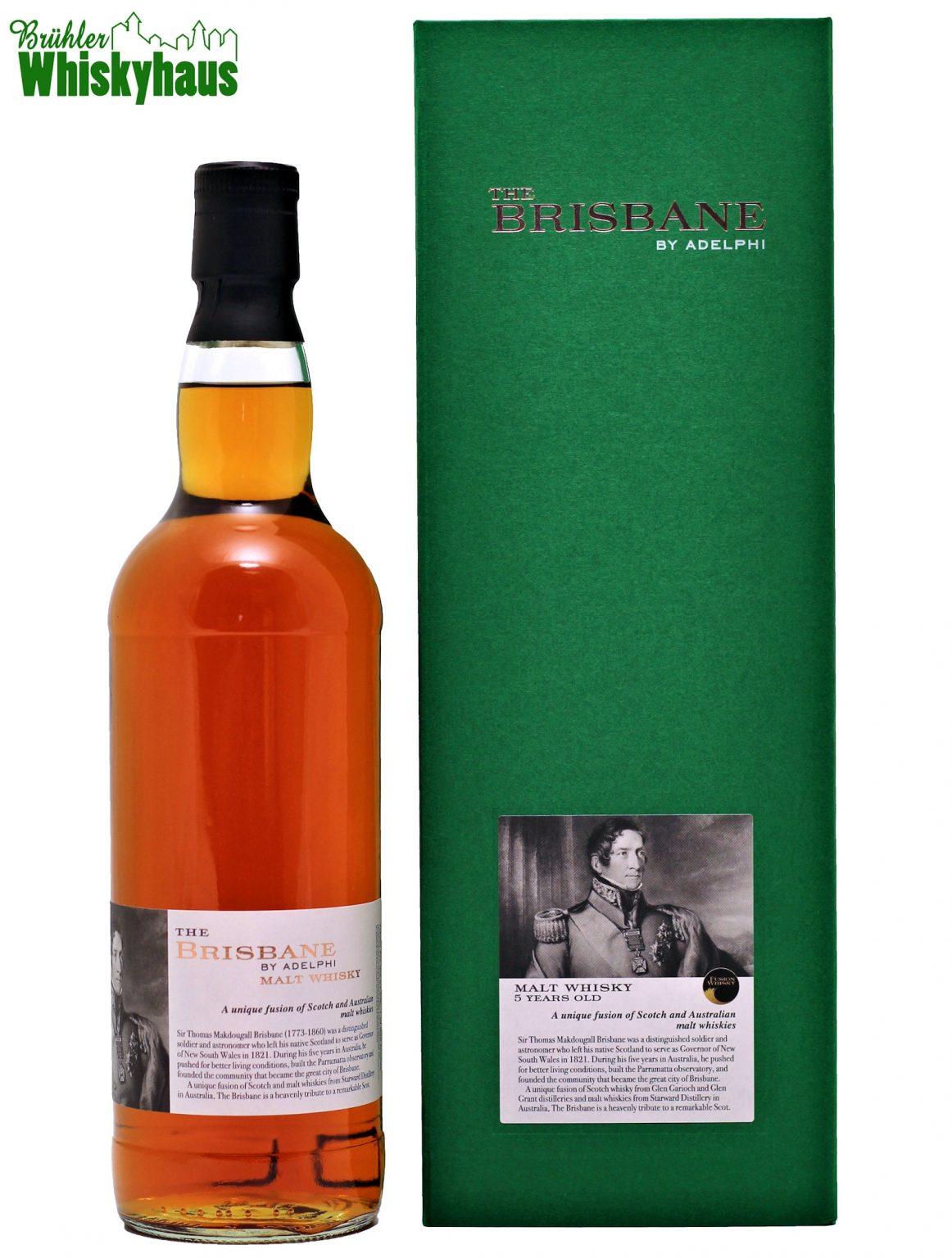 Adelphi 5 Jahre - The Brisbane - A Unique Fusion of Scotch and Australian Malt Whisky