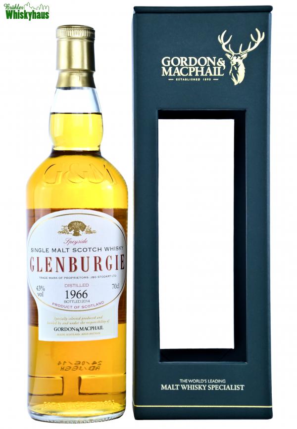 Glenburgie Vintage 1966 - 48 Jahre - First Fill Sherry Hogshead - Gordon & MacPhail - Single Malt Scotch Whisky