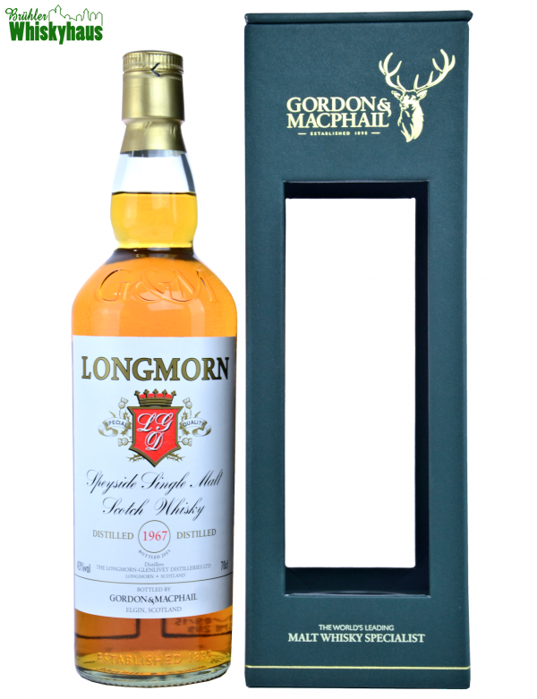 Longmorn Vintage 1967 - 48 Jahre - Refill Sherry Butt - Gordon & MacPhail - Single Malt Scotch Whisky