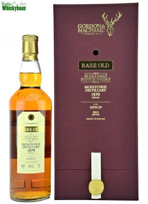 Mosstowie Vintage 1979 - 33 Jahre - Refill Bourbon Cask No. RO/12/01 - Gordon & MacPhail - Single Malt Scotch Whisky