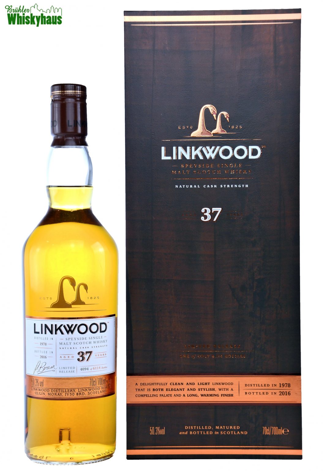Linkwood Vintage 1978 - 37 Jahre - Limited Release - Single Malt Scotch Whisky