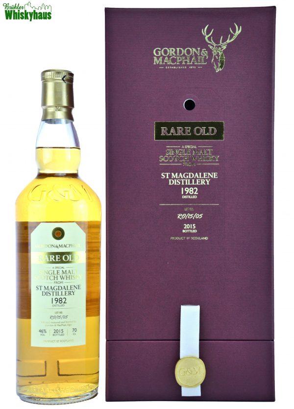 Sankt Magdalene Vintage 1982 - 33 Jahre - Refill Sherry Hogsheads No. RO/15/05 - Gordon & MacPhail - Single Malt Scotch Whisky