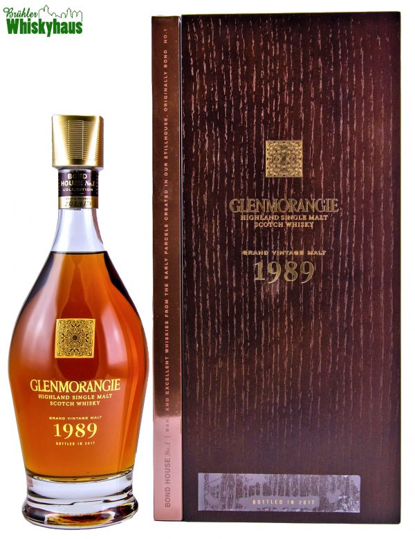 Glenmorangie Grand Vintage 1989 - 27 Jahre - Refill Oloroso Sherry Butt & Ex-Bourbon Casks - Single Malt Scotch Whisky
