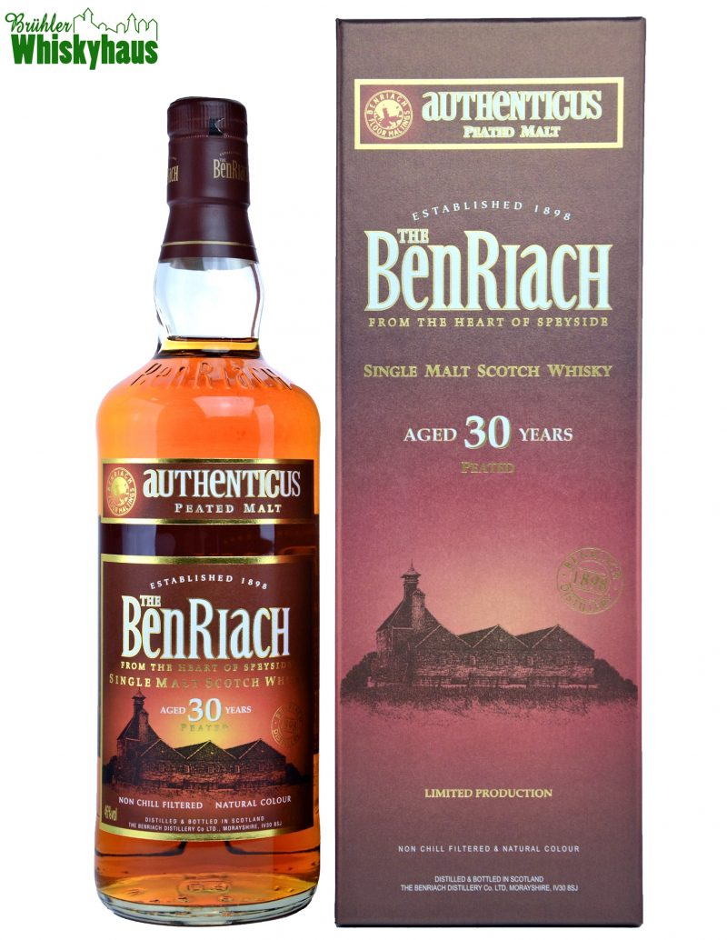 Benriach Authenticus Vintage - 30 Jahre - Single Malt Scotch Whisky