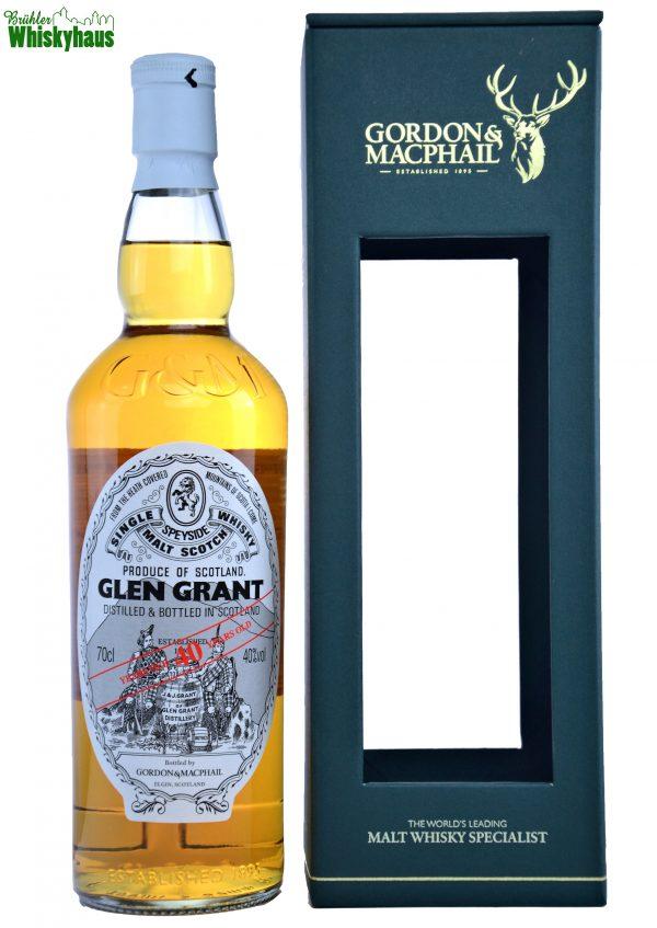Glen Grant Vintage 40 Jahre - Refill Bourbon Hogsheads - Gordon & MacPhail - Single Malt Scotch Whisky