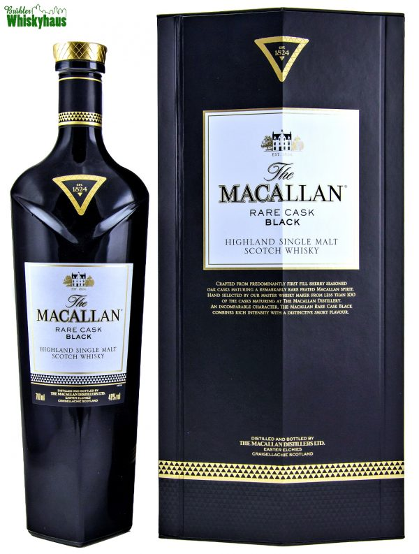 Macallan Rare Cask Black - First Fill Sherry Cask - Macallan Distillery Bottling - Single Malt Scotch Whisky