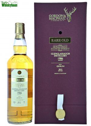 Glenglassaugh Vintage 1986 - 29 Jahre - Refill Bourbon Cask No. RO/16/04 - Gordon & MacPhail - Single Malt Scotch Whisky