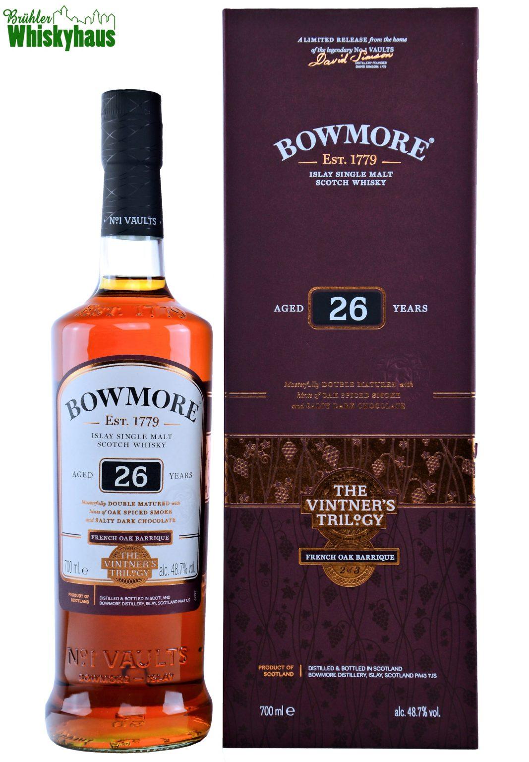 Bowmore The Vintner's Trilogy - 26 Jahre - French Oak Barrique - Single Malt Scotch Whisky