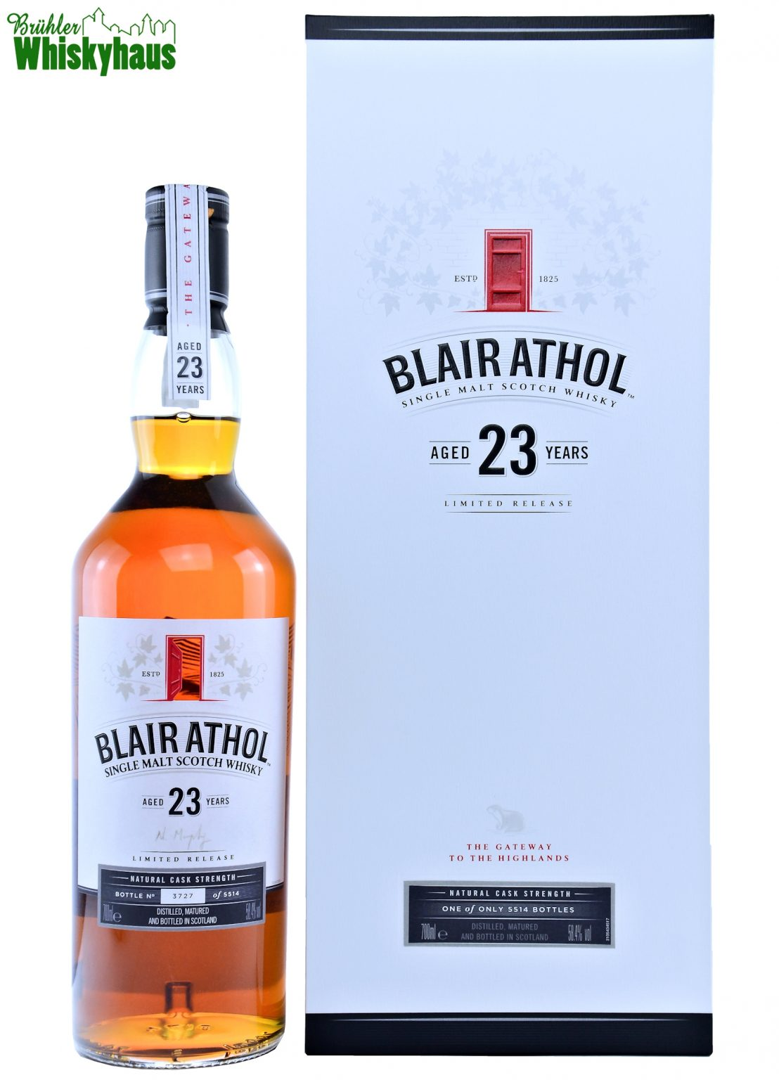 Blair Athol Vintage 1993 Diageo Special Release - 23 Jahre - Ex Bodega Butts - Single Malt Scotch Whisky