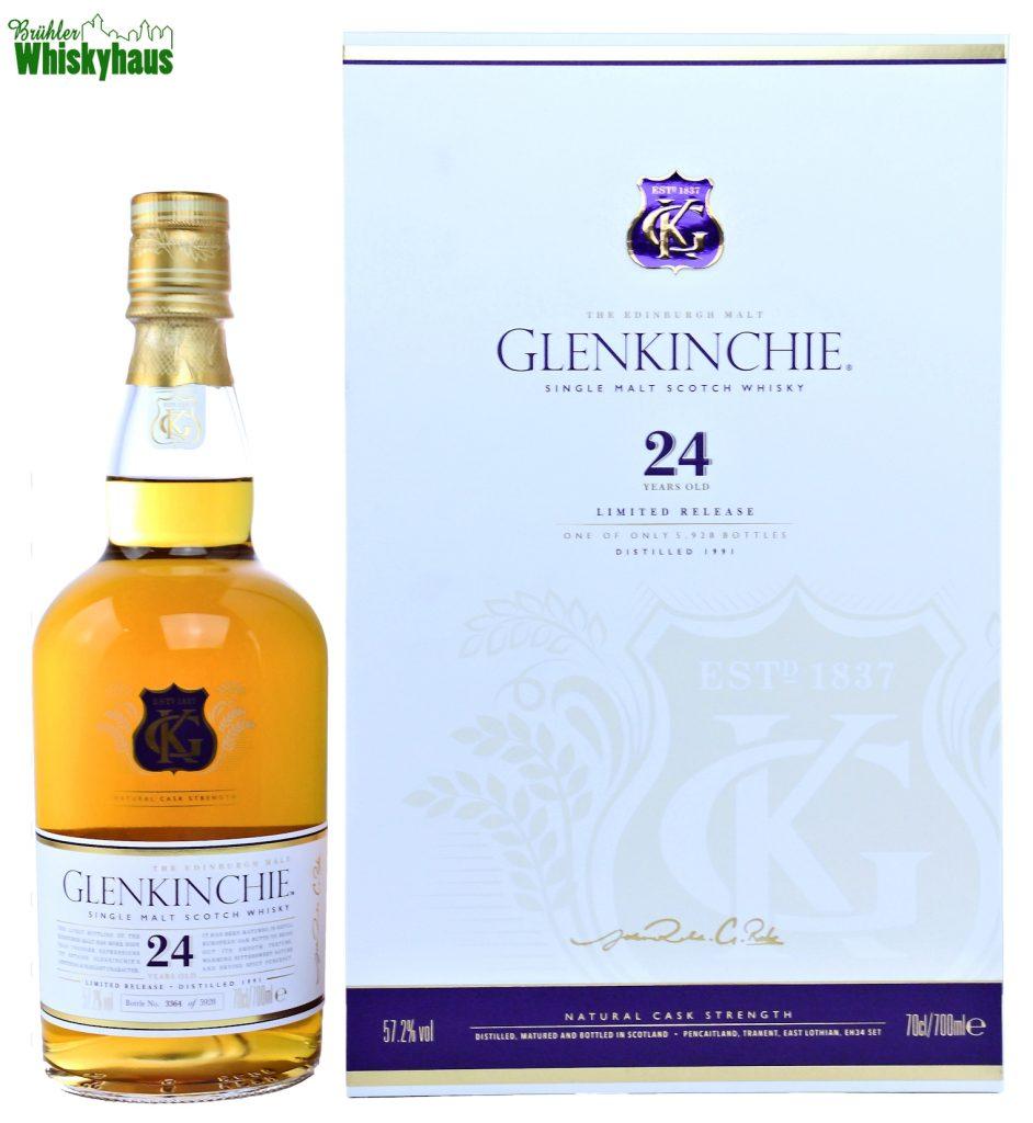 Glenkinchie Vintage 1991 - 24 Jahre - Refill European Oak Butts - Diageo Special Releases - Single Malt Scotch Whisky