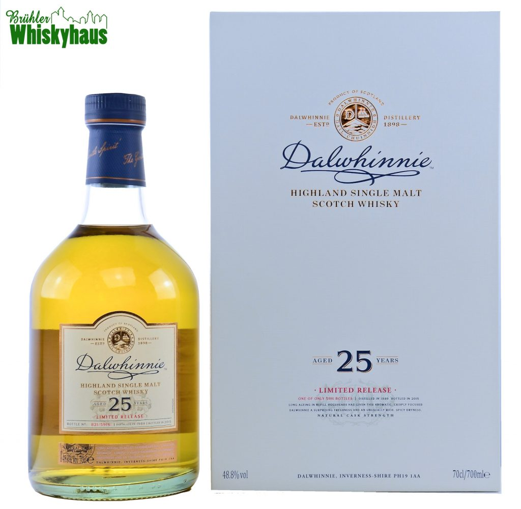 Dalwhinnie Vintage 1989 - 25 Jahre - Refill American Hogshead - Diageo Special Releases - Single Malt Scotch Whisky