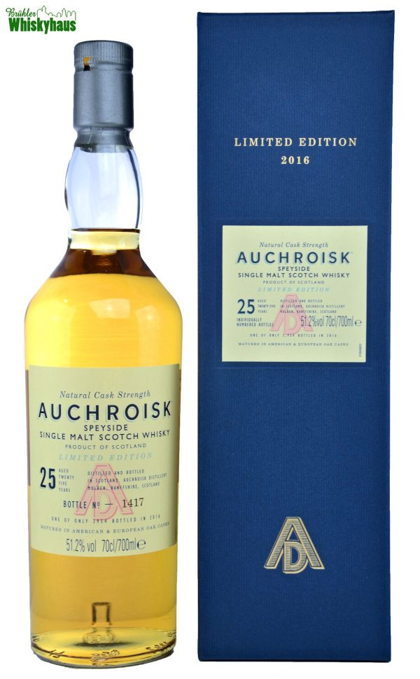 Auchroisk Vintage 1991 - 25 Jahre - Refill American & European Oak Cask - Single Malt Scotch Whisky