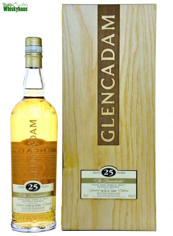 Glencadam Vintage - The Remarkable - 25 Jahre - Bourbon Casks - Single Malt Scotch Whisky