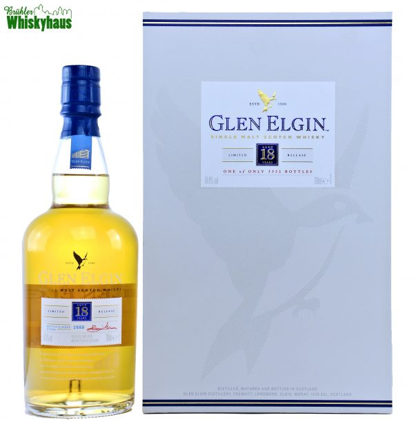 Glen Elgin Vintage 1998 - 18 Jahre - Ex-Bodega & Refill European Oak Butts - Diageo Special Releases - Single Malt Scotch Whisky