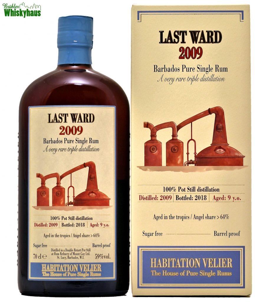 Last Ward 9 Jahre - 100% Pot Still distilation - Barbados Pure Single Rum - Habitation Velier
