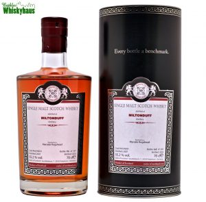 Miltonduff 10 Jahre - Marsala Hogshead Finish - Cask MoS 18031 - Malts of Scotland - Single Malt Scotch Whisky