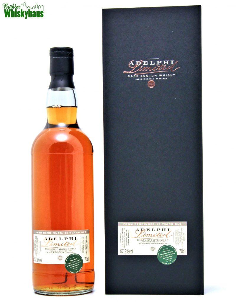 Benrinnes 33 Jahre - Sherry Cask Cask No. 2032 - Adelphi Selection - Single Malt Scotch Whisky