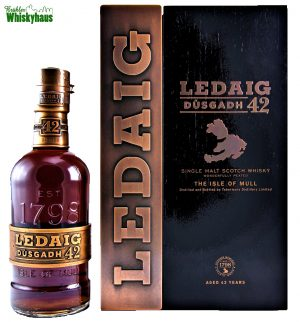 Ledaig Vintage 1972 - 42 Jahre - Dùsgadh - Oloroso Sherry Casks Finish - Single Malt Scotch Whisky