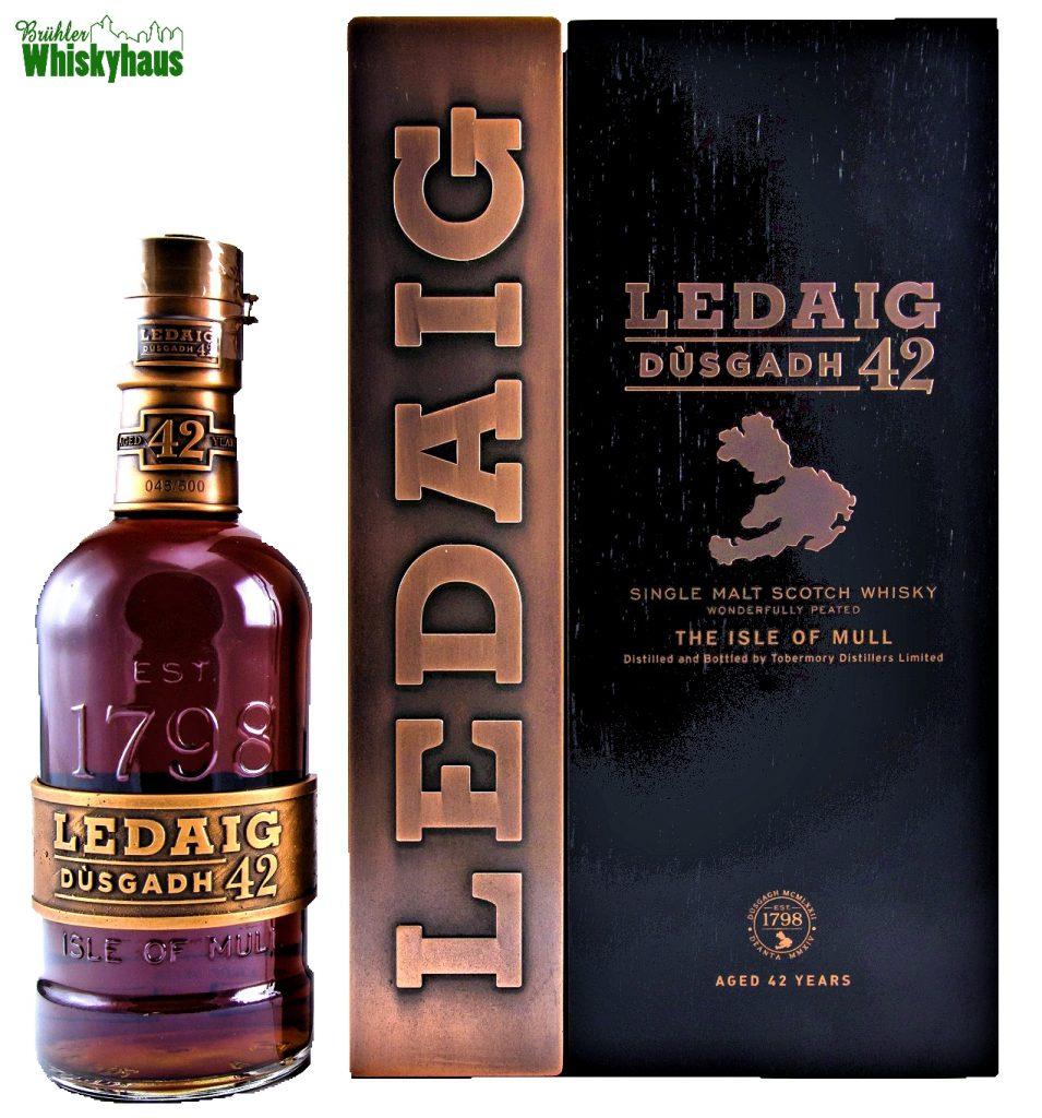 Ledaig Vintage 1972 - 42 Jahre - Dùsgadh - Oloroso Sherry Casks Finish - Single Malt Scotch Whisky