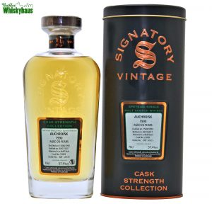 Auchroisk 26 Jahre - Refill Butt Cask N°13828 - Cask Strength Collection - Signatory Vintage - Speyside Single Malt Scotch Whisky