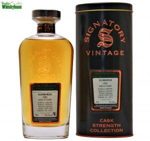 Glenburgie 23 Jahre - Hogsheads Cask N° 6534 + 6536 - Cask Strength Collection - Signatory Vintage - Speyside Single Malt Scotch Whisky