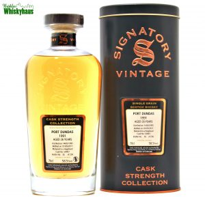 Port Dundas 26 Jahre - Hogshead Cask N°50407 - Cask Strenght Collection - Signatory Vintage - Speyside Single Malt Scotch Whisky