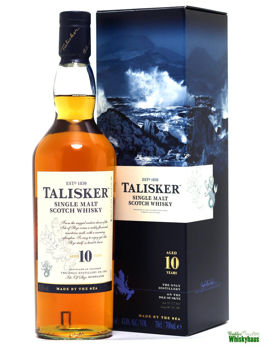 Talisker 10 Jahre - Single Malt Scotch Whisky