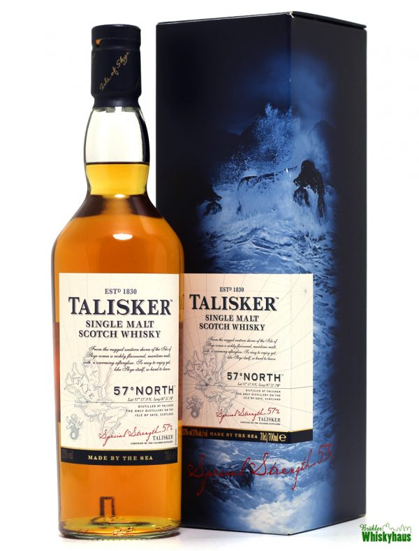 Talisker 57° NORTH - The Only Single Malt Scotch Whisky Form The Isle Of Skye