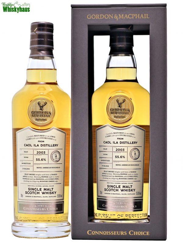 Caol Ila 14 Jahre - Refill American Hogshead Batch 18/046 - Gordon & MacPhail - Single Malt Scotch Whisky