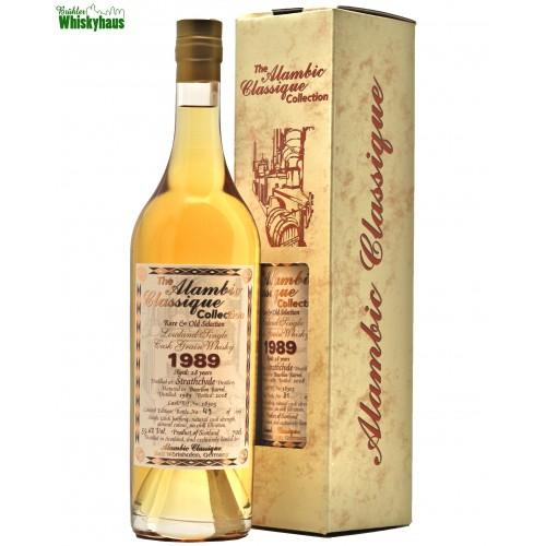 Strathclyde 28 Jahre - Bourbon Barrel N° 18305 - Alambic Classique - Rare & Old Selction - Highland Single Cask Grain Whisky