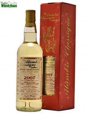 Caol Ila 10 Jahre - Refill Bourbon Cask N° 18401 - Alambic Classique - Special Vintage Selection - Islay Single Malt Scotch Whisky