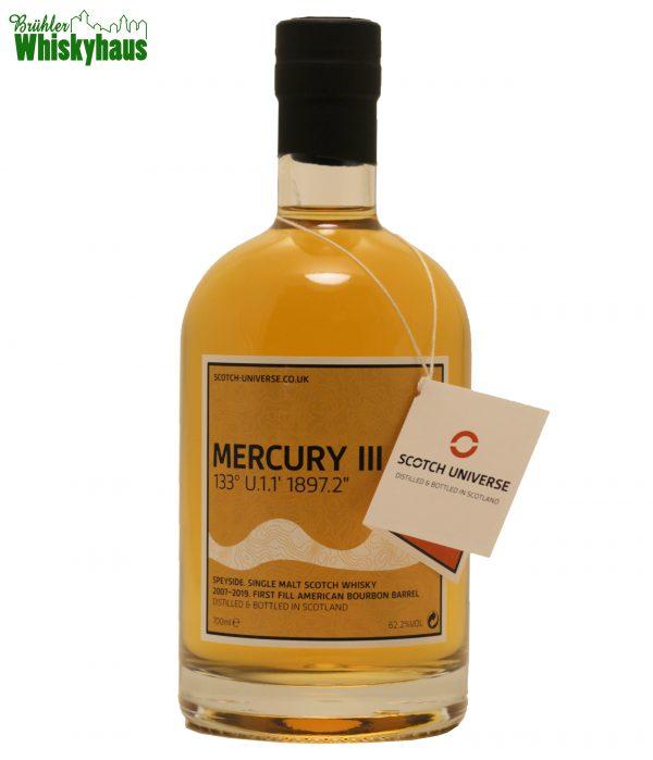 "Mercury III 133° U.1.1 1897.2"" - 11 Jahre - 1st Fill American Bourbon Barrel - Scotch Universe - Single Malt Scotch Whisky"