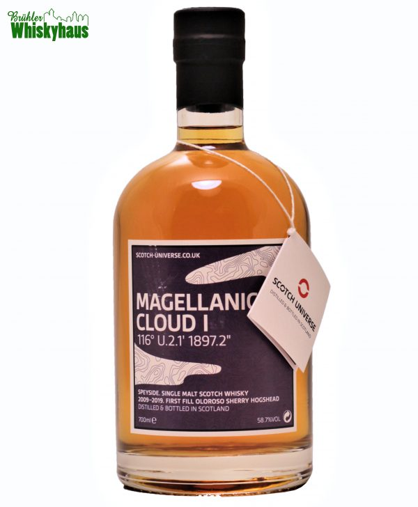 "Magellanic Cloud I 116° U.2.1 1897.2"" - 9 Jahre - 1st Fill Oloroso Sherry Hogshead - Scotch Universe - Single Malt Scotch Whisky"